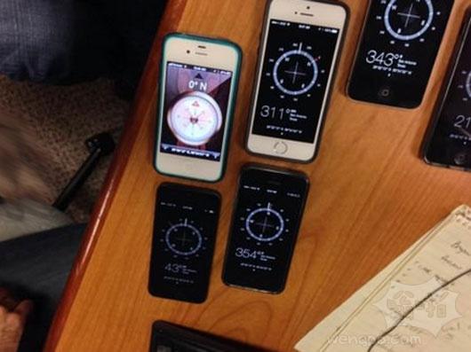 苹果的魔法指南针的应用。