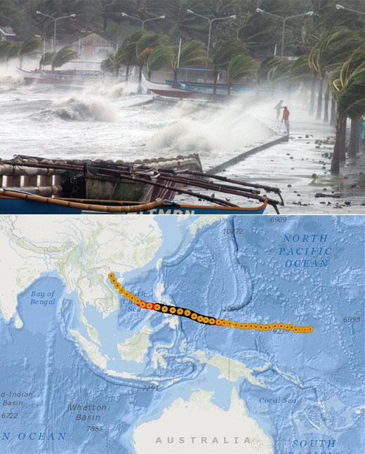 风暴追踪剧情超强台风海燕