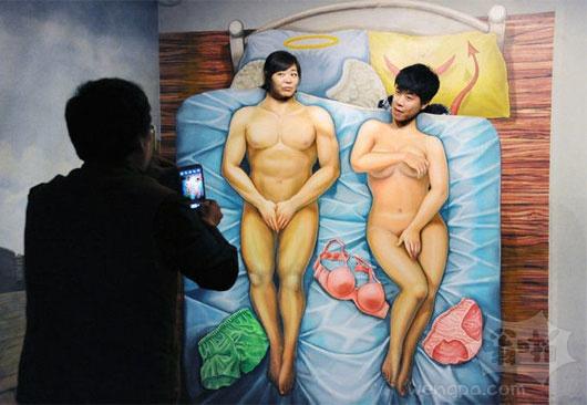 上海魔幻趣味馆 时尚热拍3D图