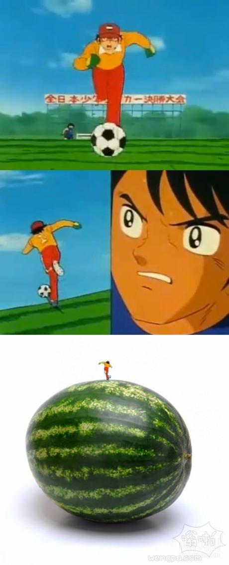 刚刚发现了为什么足球小子字符永不停止的带球向前跑