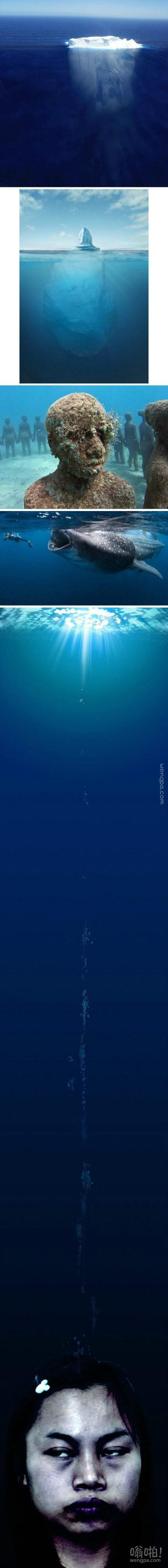 各种深海恐怖,总有一张让你害怕。。。