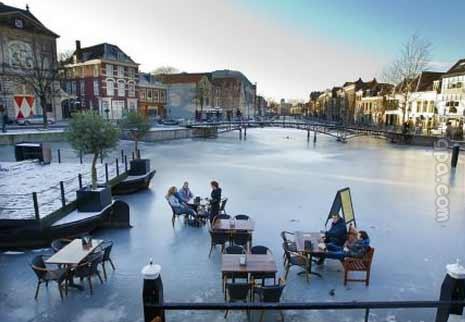 阿姆斯特丹的冬天