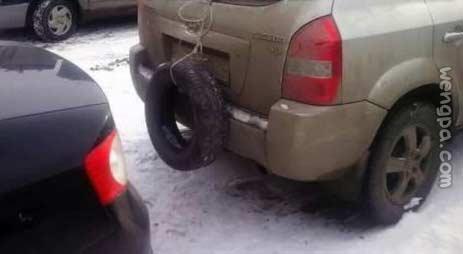 雨雪天开车上路挂个这个靠谱