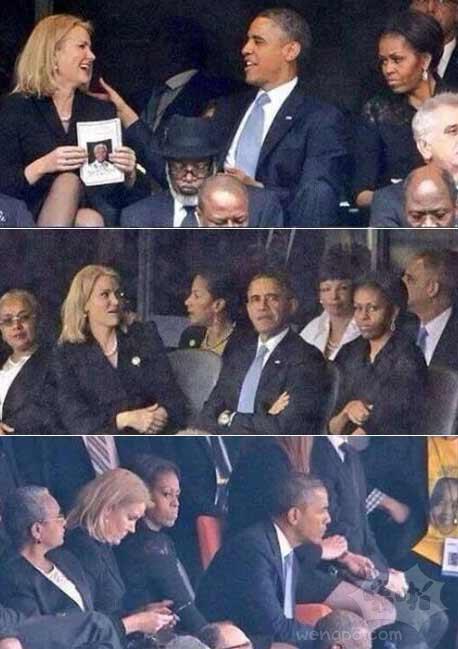 美国总统也是人