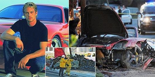 速度与激情明星保罗沃克死在激烈的汽车残骸:演员杀害后保时捷GT由他的朋友撞杆