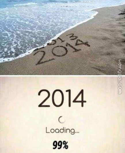 亲,不知你是否留意到,今天已是2013年的最后一天。仿佛眨眼之间,2013已匆匆过去。如果你今年还有什么计划没有完成,争取在今天做个了结吧!让2013的不快回忆,永远留在2013;让2013的遗憾,成为你追寻一个美好2014的动力。带着希望与新气象,让我们迎接明天、迎接明年…