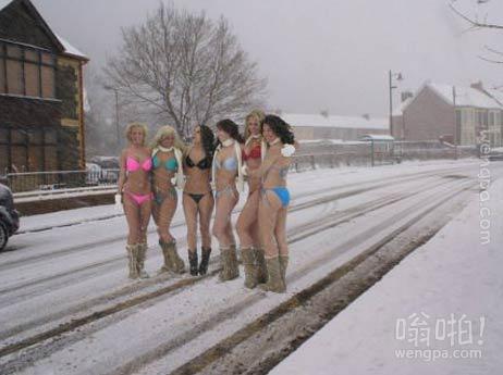 挪威的比基尼女人们