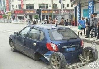 一个急刹车怎么就这样了?!