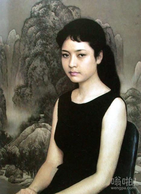"""{彭丽媛肖像}被称为中国的""""蒙娜丽莎"""""""