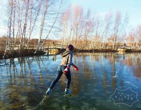 完美的滑冰条件