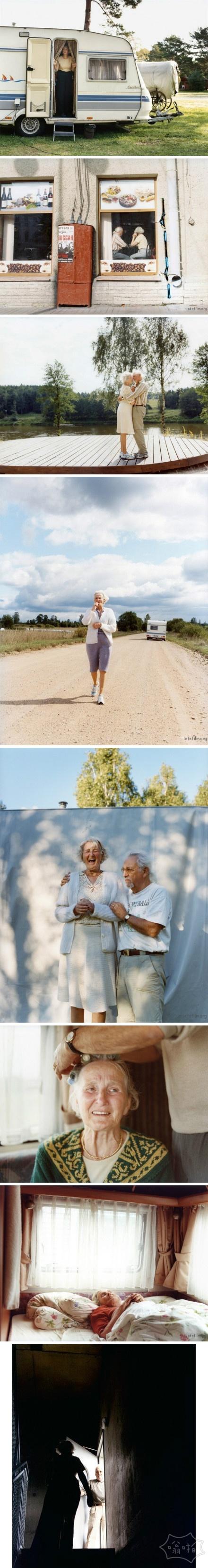 一对年迈夫妇的最后旅途时光