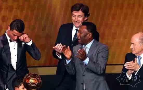 C罗获2013年FIFA金球奖 压梅西里贝里2度当选