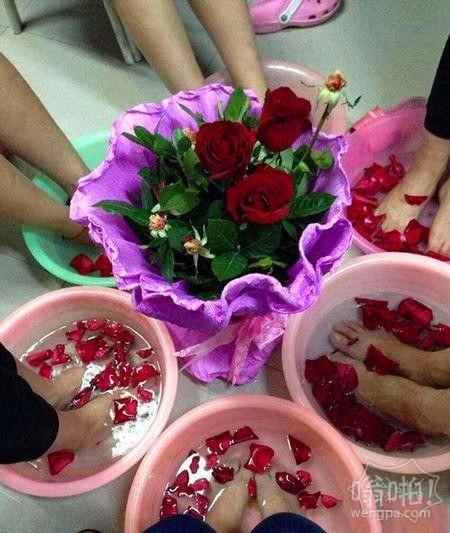 这就是送女汉子玫瑰的下场~