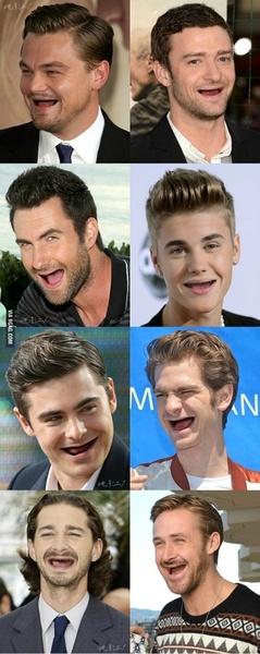男神没有牙。。