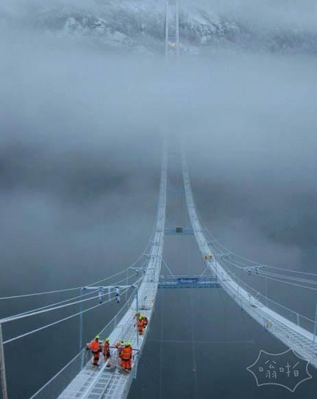 挪威的大桥,你敢过吗