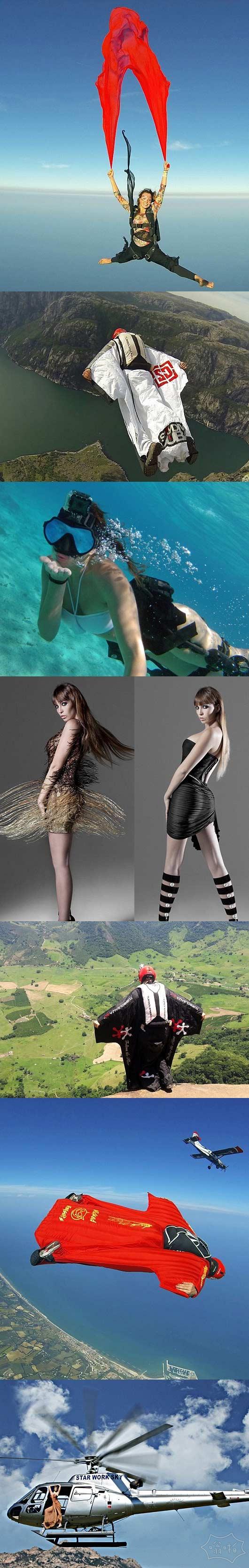 美女模特的极限人生