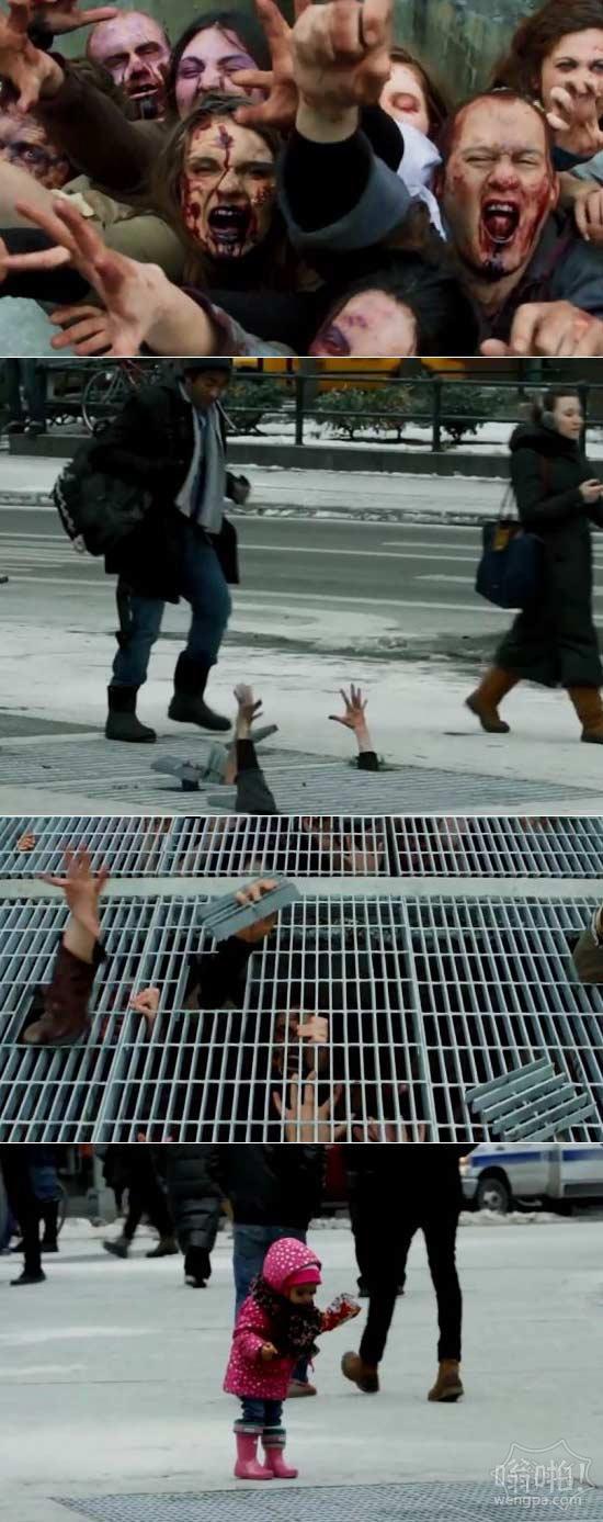 被吓死!行尸走肉僵尸恐吓:纽约街头的宣传(视频)