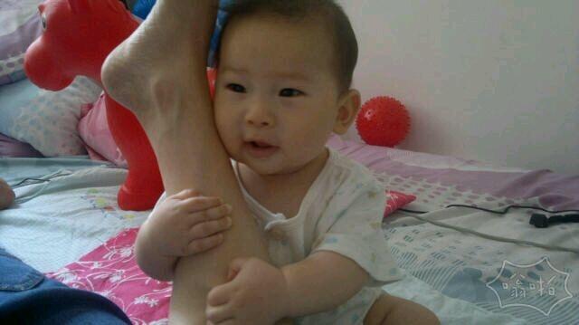 从小就知道抱大腿