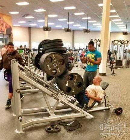 这是拿生命在锻炼啊