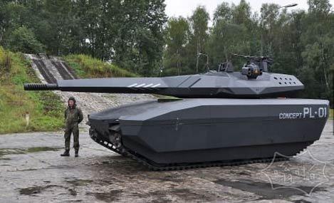 波兰有一个漂亮的未来新型坦克