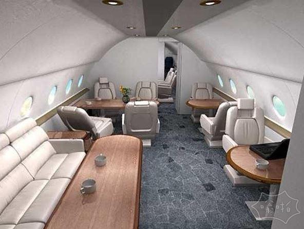 林青霞的私人飞机