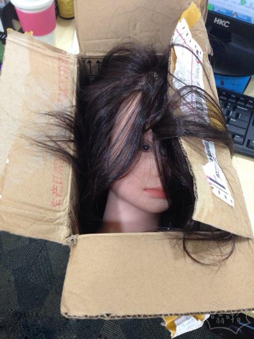 【转】同事拿了快递箱让我拆,说给我个惊喜!!就是这货吗!彻底吓尿了好吗!
