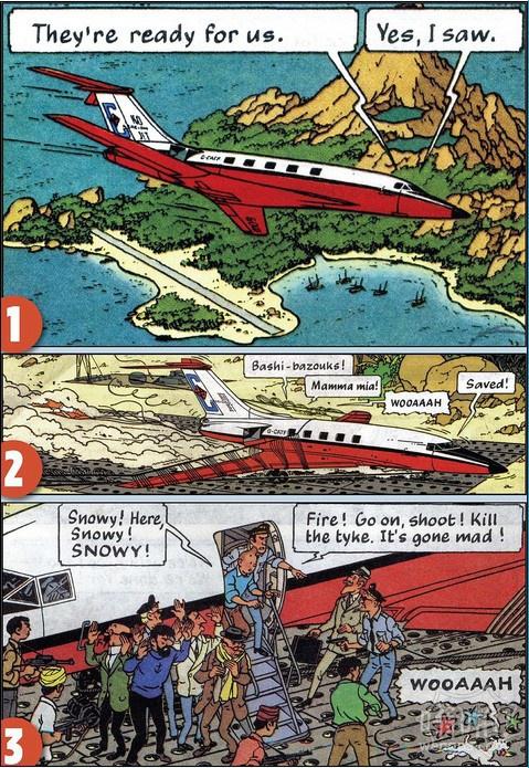 比利时漫画家埃尔热描绘的一个阴谋它类似于马来西亚航班MH370神秘失踪的某些方面。