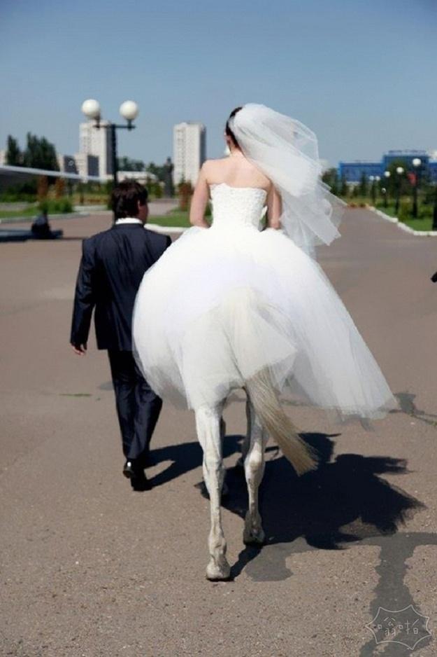 每个人都参与了这场婚礼照片的拍摄