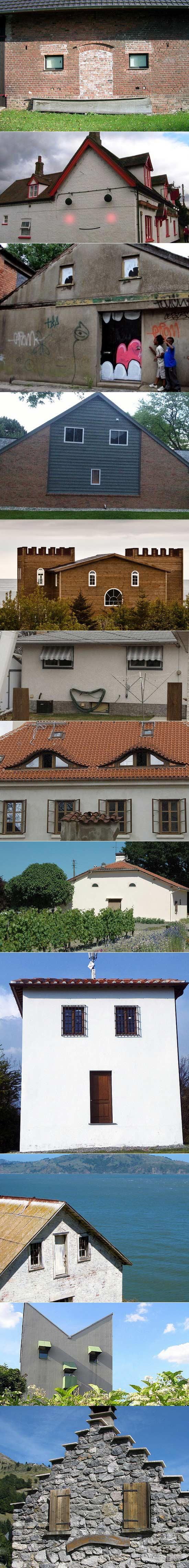 房子的表情