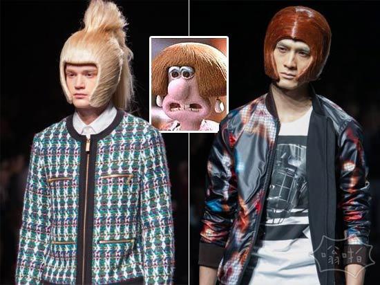 日本新的时尚秀怎么有点眼熟