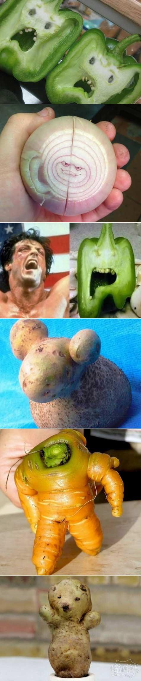 蔬菜怪人第二波