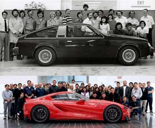 丰田 – 1978年和现在