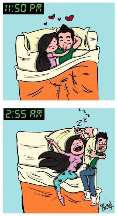 我女友问我第二天怎么睡在沙发上