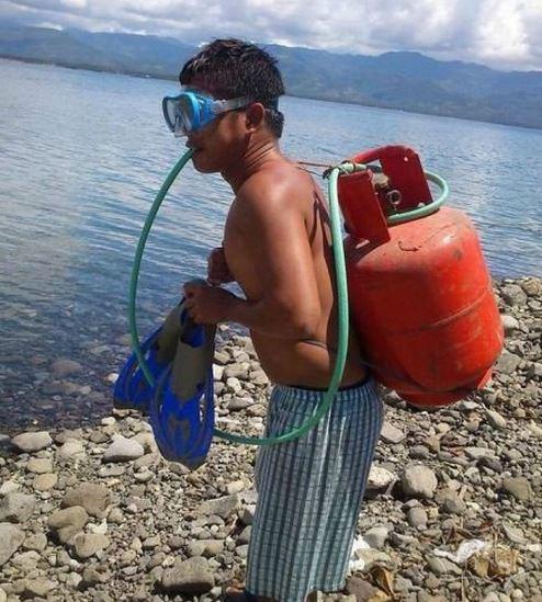 自制潜水器