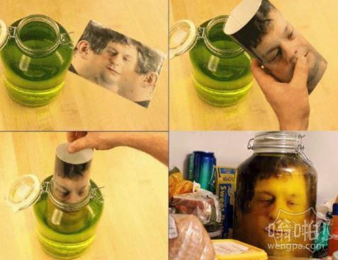 一秒教你如何把人放进瓶子里