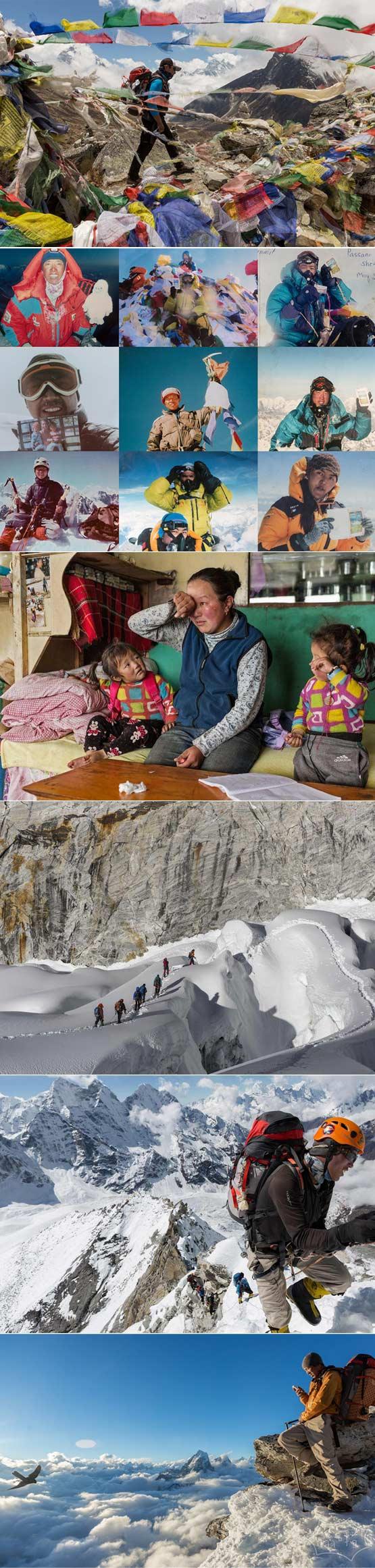 夏尔巴人:看不见的珠穆朗玛峰的人