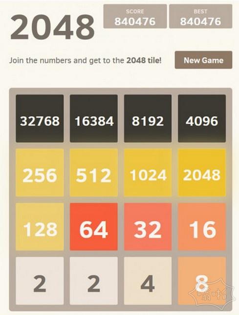 2048到最大