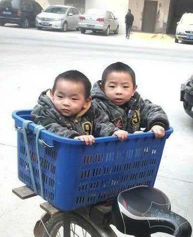 双胞胎兄弟的新座驾