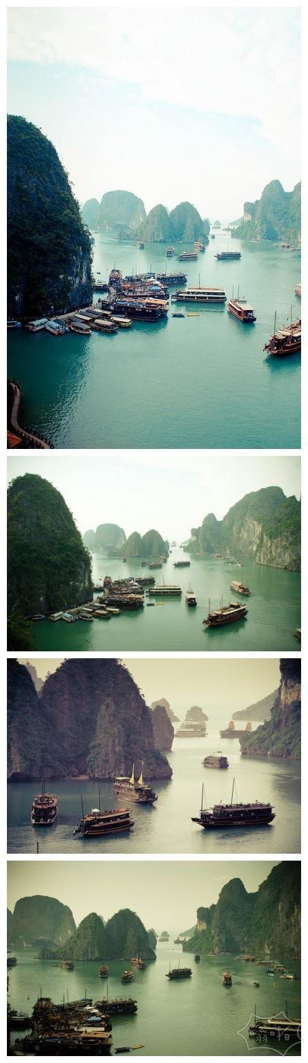 这就是有海上桂林之称的下龙湾