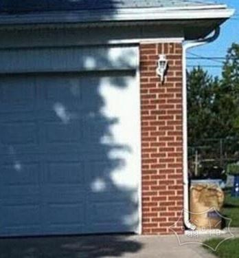 墙上有张脸看到了吗