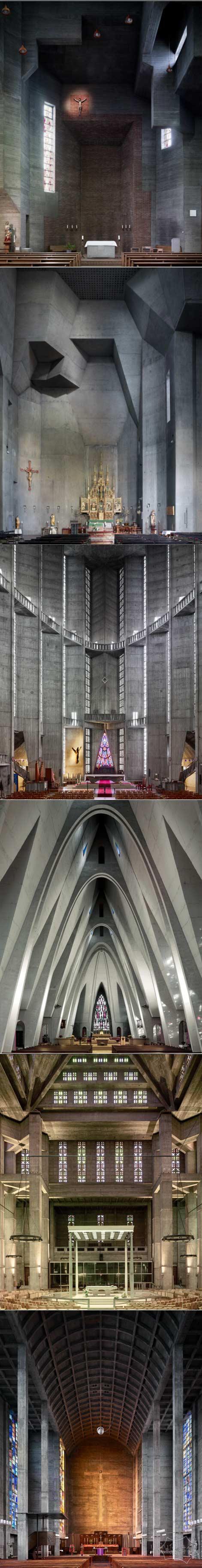 壮观的现代教堂设计