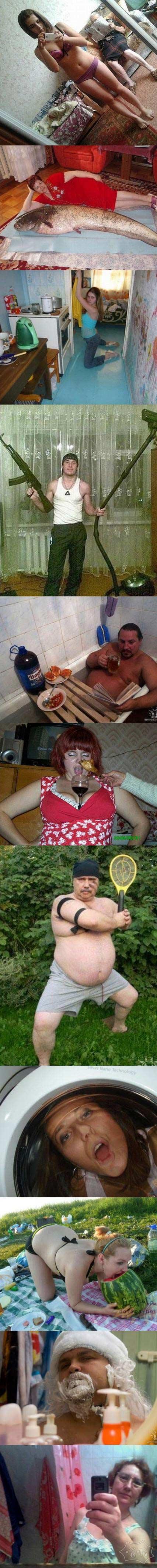 俄罗斯社交网站令人费解的照片