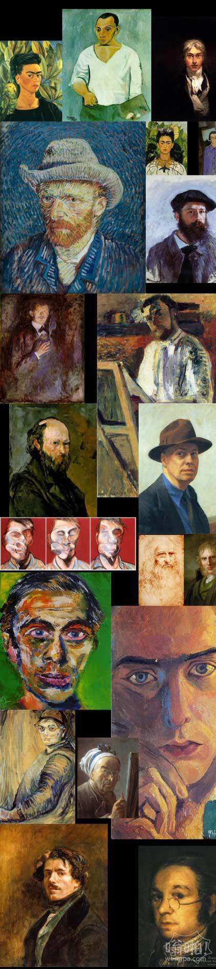 绘画自拍:艺术史课的思考
