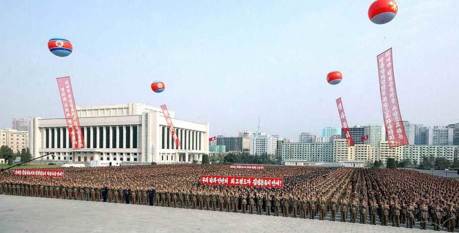 朝鲜举国欢庆金正恩再次当选最高领导人