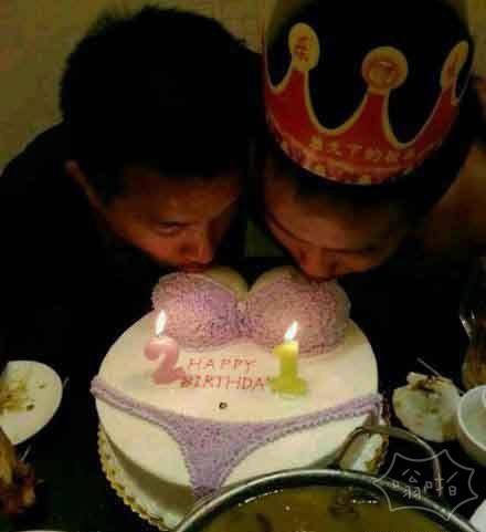 这生日蛋糕要不要这么邪恶!