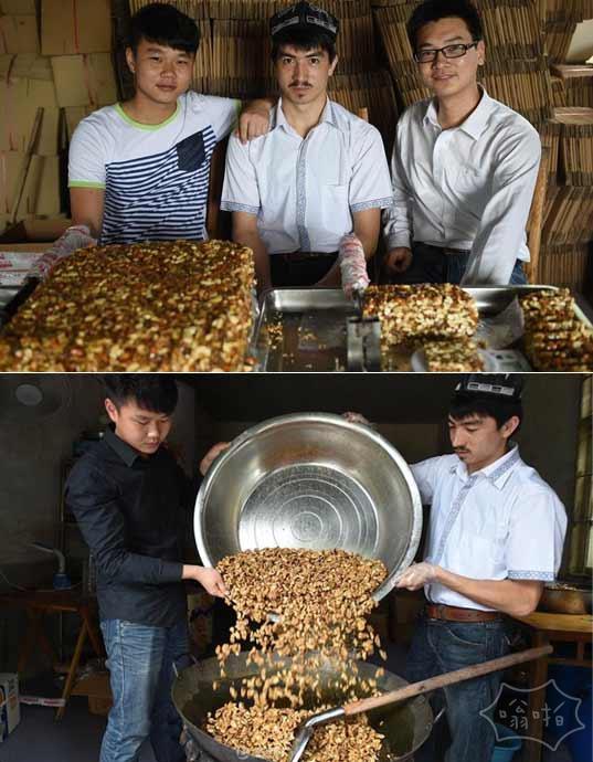 长沙维汉大学生合伙卖切糕 日进十万