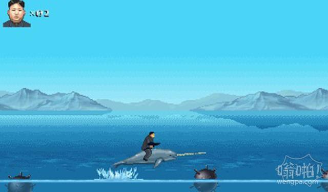 美公司推新游戏:金正恩骑独角兽单挑美国大兵