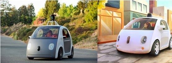 Google发布无人驾驶汽车原型 没有方向盘和踏板