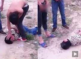 三光背青年狂殴13岁少年半小时至其昏死 向其脸上小便