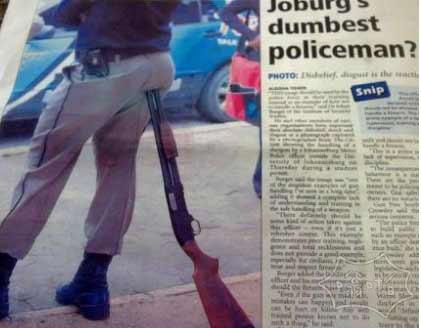 嘿,警察,你上头条了知道吗
